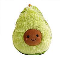 Детская Мягкая игрушка Плюшевый Авокадо 30 см Дитяча мягка играшка