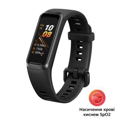 Фитнес браслет Huawei Band 4 Graphite Black (Andes-B29) SpO2 (OXIMETER) (55024462)