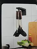 Держатель подвесной для кухонных принадлежностей, цвет чёрный., фото 2