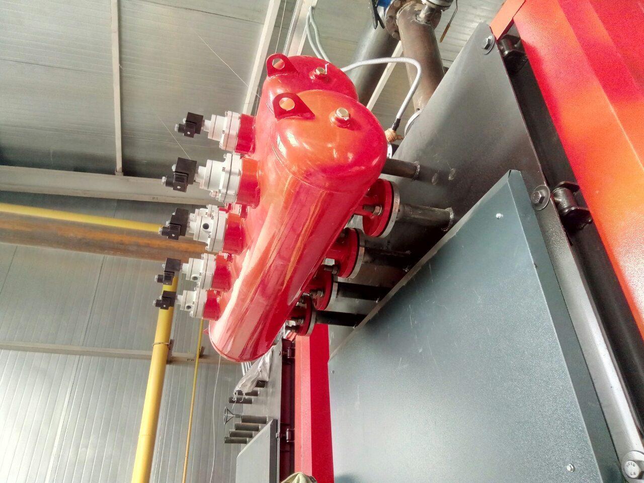 Система автоматической очистки зольных и шлаковых отложений газотрубного котла