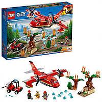 Конструктор Лего сити 60217 пожарный самолет LEGO City Fire Plane