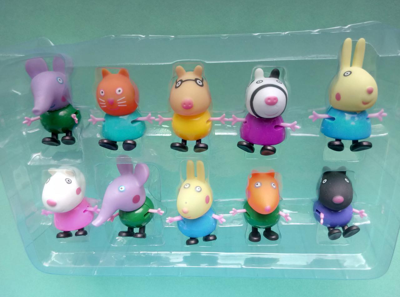 Игровой набор 10 друзей Свинки