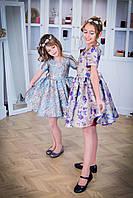 """Модель """"МЕЛАНЖ"""" - дитяча сукня / детское нарядное платье"""