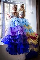 """Модель """"МЕЛАНЖ LUX"""" - дитяча сукня / детское нарядное платье"""