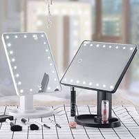Зеркало настольное с подсветкой LED - бренд Large Led Mirror, фото 5