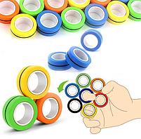 Спиннер Нового Поколения.Magnetic Rings (Магнитные Кольца 3шт), фото 3