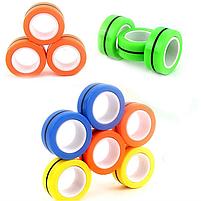 Спиннер Нового Поколения.Magnetic Rings (Магнитные Кольца 3шт), фото 6
