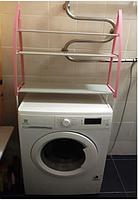 Стойка органайзер над стиральной машиной - напольные полки для ванной комнаты WM-63, фото 2