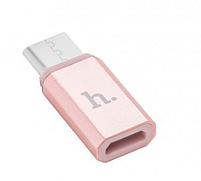 Адаптер-переходник Hoco USB - Type-C, фото 3