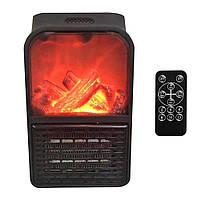 Портативный обогреватель с пультом Flame Heater (500 Вт) Экономный, фото 5