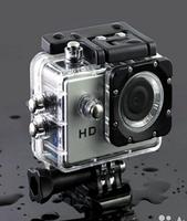 Экшн камера A7 FullHD + аквабокс + Регистратор Полный компект+крепление шлем СЕРЕБРО, фото 6