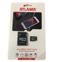Карта памяти 32Gb class 10 microSDHC ATLANFA + адаптер, фото 2