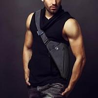 Мужская сумка через плечо, мессенджер Cross Body (Кросс Боди)! НОВИНКА, фото 2