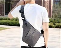 Мужская сумка через плечо, мессенджер Cross Body (Кросс Боди)! НОВИНКА, фото 3