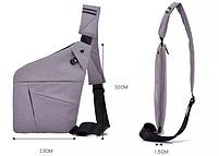 Мужская сумка через плечо, мессенджер Cross Body (Кросс Боди)! НОВИНКА, фото 4