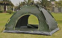 Палатка-автомат 2-х местная с автоматическим каркасом Leomax (2*1,5 метра) - Разные цвета, фото 3