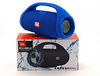 Колонка JBL BOOMBOX MINI E10 с USB, SD, FM, Bluetooth, 2-динамиками, хорошая реплика JBL СИНЯЯ, фото 2