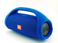 Колонка JBL BOOMBOX MINI E10 с USB, SD, FM, Bluetooth, 2-динамиками, хорошая реплика JBL СИНЯЯ, фото 6