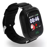 Смарт-часы детские UWatch Q90 GPS контроль звонки сообщения SOS Wi-Fi, фото 3