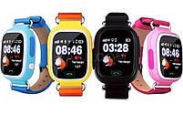 Смарт-часы детские UWatch Q90 GPS контроль звонки сообщения SOS Wi-Fi, фото 6