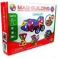 Магнитный конструктор на 36 деталей MAG-BUILDING CARNIVAL, фото 2