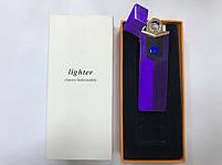 Сенсорная USB зажигалка мощная Lighter H2232, фото 4