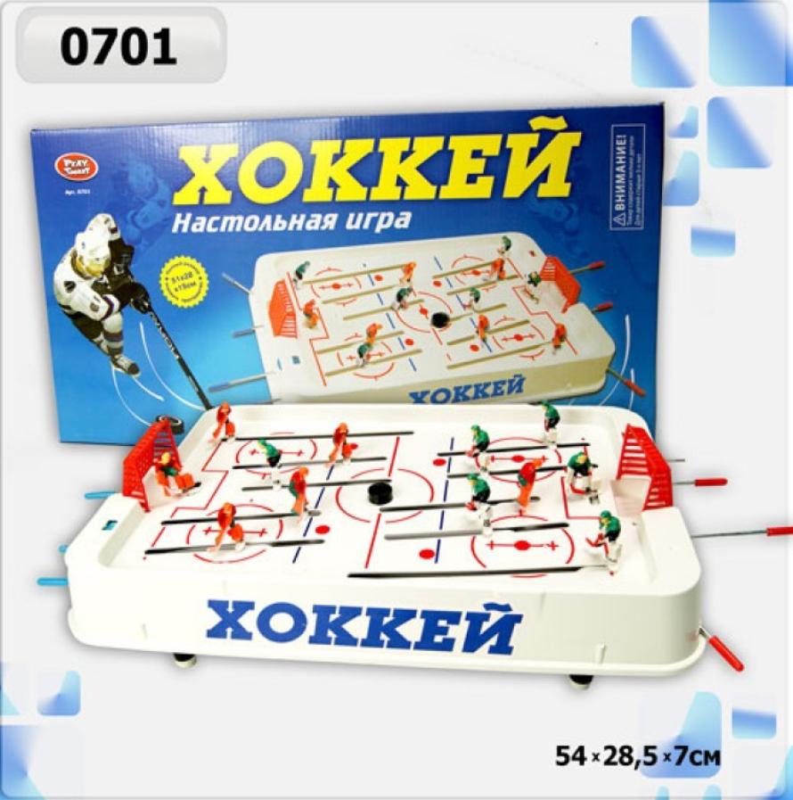 Настольная игра для двоих на штангах Хоккей Play Smart (0701) 54*6*29