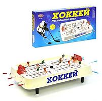 Настольная игра для двоих на штангах Хоккей Play Smart (0701) 54*6*29, фото 3