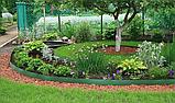 Лента бордюрная для огорода  0,65х150х9000 мм зеленая, фото 10