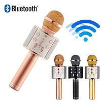 Bluetooth микрофон для караоке с изменением голоса WSTER WS-858, фото 3
