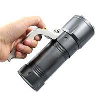 Яркий Фонарь-прожектор Police T801-9 с зумом, фото 7