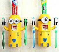 Яркий Автоматический детский дозатор зубной пасты Миньон. Лучшая Цена!, фото 3
