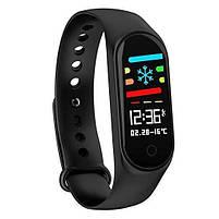 Фитнес-часы М4, смарт браслет smart watch, аналог mi band 4, треккер, сенсорные фитнес часы, фото 2