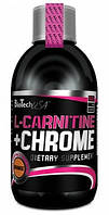 Елькарнитин BioTech L-Carnitine 35.000+Chrome 500 ml