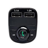 ФМ модулятор FM трансмиттер CAR X8 с Bluetooth MP3 (X8), фото 7