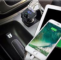 ФМ модулятор FM трансмиттер CAR X8 с Bluetooth MP3 (X8), фото 8