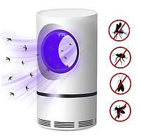 Лампа от комаров, Низковольтная лампа-убийца от комаров USB UV электрическая, Летающий мугген, фото 2