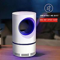 Лампа от комаров, Низковольтная лампа-убийца от комаров USB UV электрическая, Летающий мугген, фото 3