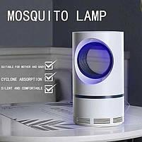 Лампа от комаров, Низковольтная лампа-убийца от комаров USB UV электрическая, Летающий мугген, фото 5