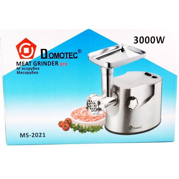 Мясорубка DOMOTEC MS-2021 S 3000Вт