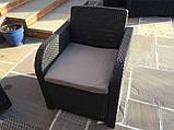 Комплект садових меблів Allibert by Keter Modena Lounge Set with Storage Table Brown ( коричневий ), фото 6