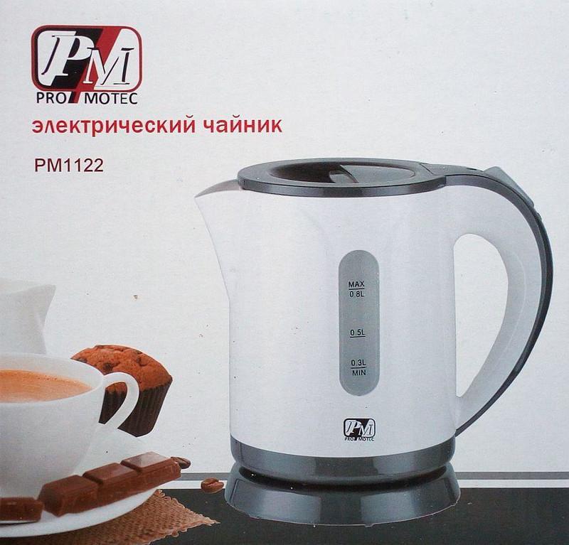 🛍️ Электрочайник Promotec PM1122 0.8 л 220V