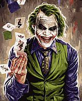 Картина рисование по номерам Artissimo Джокер PN2008 40х50 см роспись по номерам набор, краски, кисти и холст