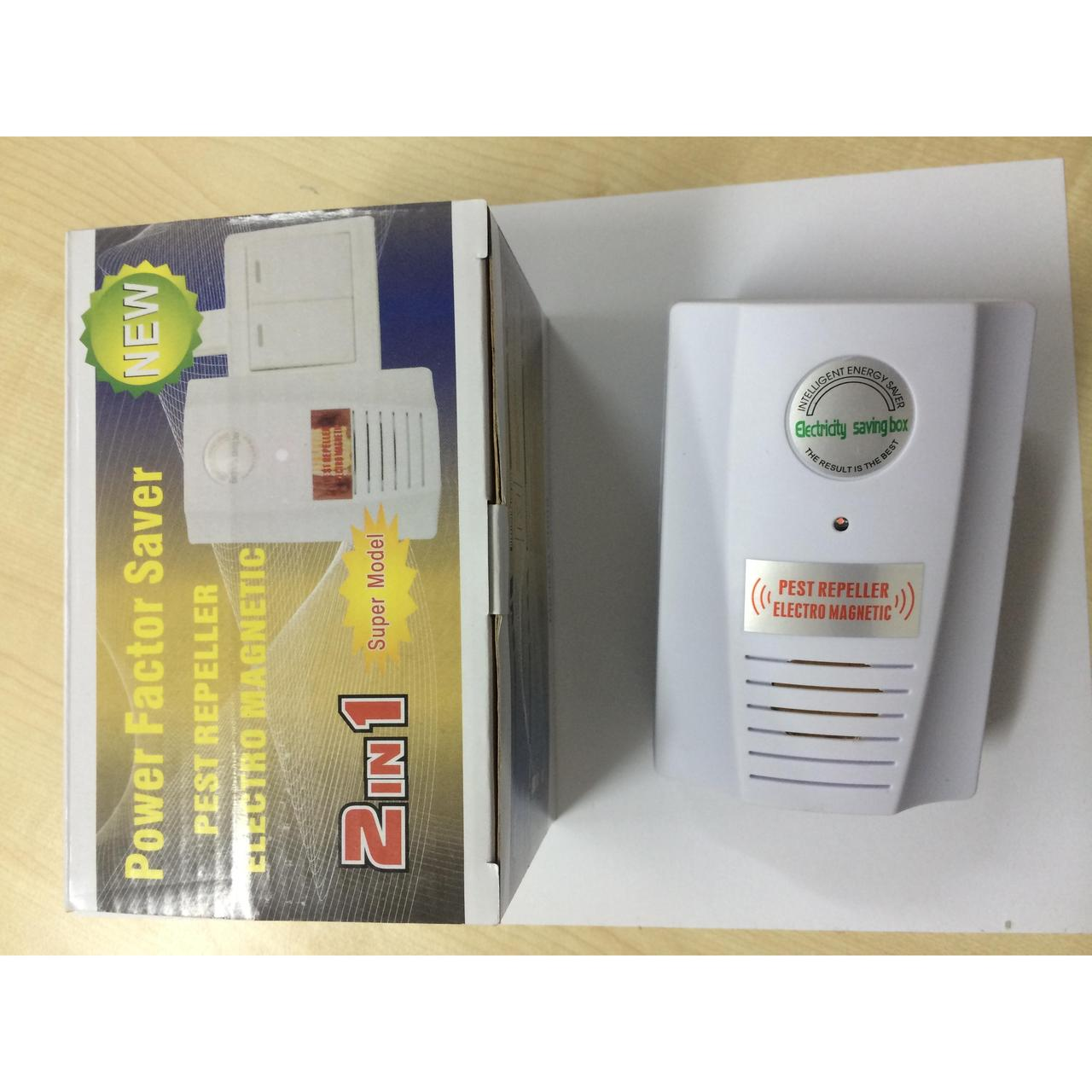 Экономайзер и отпугиватель 2 в 1 Power saver and pest repeller 2 in 1