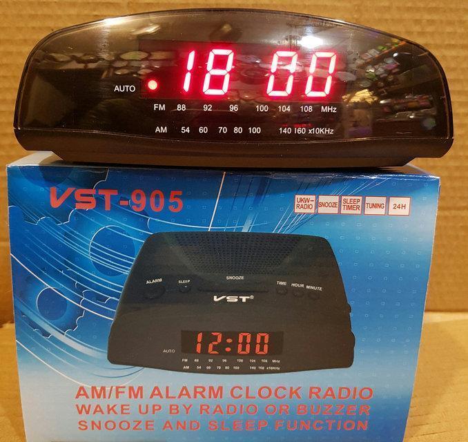 🛍️ Электронные проводные цифровые часы VST 905