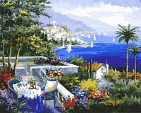 Картина рисование по номерам Mariposa Ривьера Рандеву. Худ. Шери Болман 40х50см Q2113 набор для росписи,