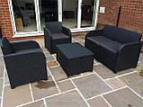Комплект садовой мебели Allibert by Keter Modena Lounge Set with Storage Table Graphite ( графит ), фото 8