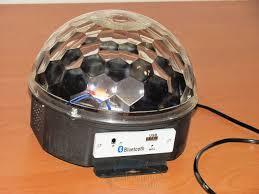 Диско шар Bluetooth MP3 LED Crystall Magic Ball Light светомузыка с пультом