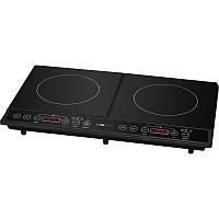 Індукційна плита Clatronic DKI 3609, 2 конфорки, 10 рівнів температури, 3500 Вт