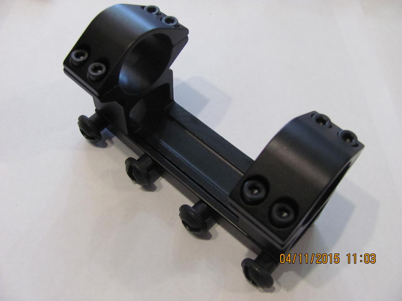 Моноблок для крепления оптики 25 мм, на вивер